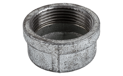 Cap Galvanised End