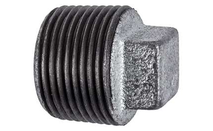 Plug Galvanised Hollow